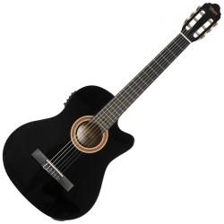 Valencia VC104CE-BK klasszikus gitár