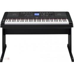 Yamaha DGX-660 Digitális Zongora, fekete