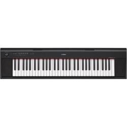 Yamaha NP-12B Szinpadi zongora, fekete