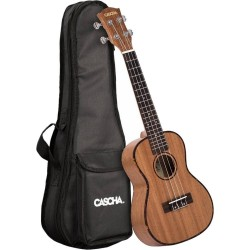 Fender Zuma Classic Concert Uke Walnut FB Lake Placid Blue