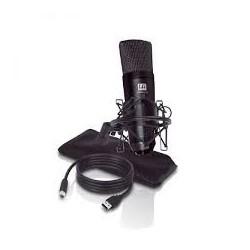 """LD Systems """"LS-LDD1014CUSB"""" USB stúdió kondenzátor (podcast) mikrofon univerzális, nem igényel drivert"""