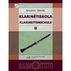 Balassa György, Berkes Kálmán id.: Klarinétiskola 2