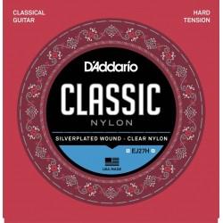 D'Addario EJ 27H klasszikus gitárhúr (hard)