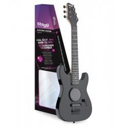 STAGG GAMP200-BK junior elektromos gitár