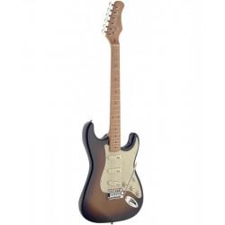 Stagg SES50M-SB elektromos gitár  jobbkezes