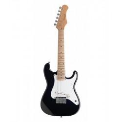 Stagg S300-BK elektromos gitár  jobbkezes