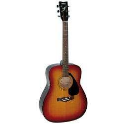 YAMAHA F310-P-TBS Akusztikus gitár pakk,Tobacco brown sunburst