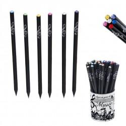 Fekete ceruza Swarovski kristállyal