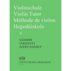 Járdányi Pál, Szervánszky Endre,Sándor Frigyes:Hegedűiskola 2.