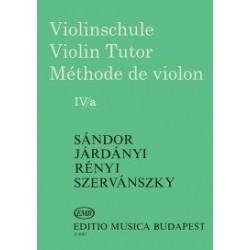Járdányi Pál, Szervánszky Endre, Sándor Frigyes:Hegedűiskola 4/a