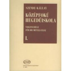 Szende Ottó, Kállay Géza: Középfokú hegedűiskola 1