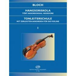 Bloch József: Hangsoriskola 1 tört akkordokkal Op. 5