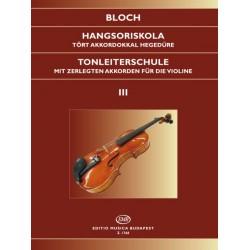 Bloch József: Hangsoriskola 2 tört akkordokkal Op. 5