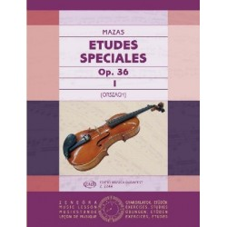 Mazas, Jacques-Féréol: Études spéciales 1 Op. 36