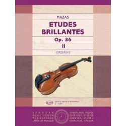 Mazas, Jacques-Féréol: Études brillantes 2 Op. 36
