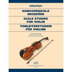 Országh Tivadar: Hangsoriskola hegedűre
