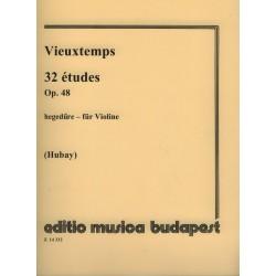 Vieuxtemps, Henry: 32 études Op.48