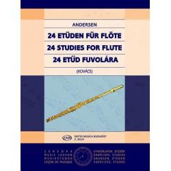Andersen, Joachim: 24 etűd fuvolára Op. 15 Közreadta Kovács Lóránt