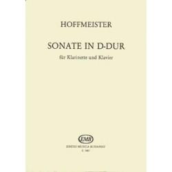 Hoffmeister, Franz Anton: Sonate in D-Dur für Klarinette und Klavier Közreadta Balassa György