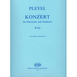 Pleyel, Ignaz Josef: Konzert für Klarinette B-dúr zongorakivonat