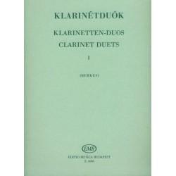 Klarinétduók 1 Közreadta Berkes Kálmán id.