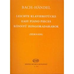 Bach, Johann Sebastian, Händel, Georg Friedrich, Bach, Carl Philipp Emanuel, Bach, Wilhelm Friedemann: Könnyű zongoradarabok