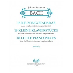 Bach, Johann Sebastian: 18 kis zongoradarab