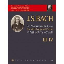 Bach, Johann Sebastian: Das Wohltemperierte Klavier III-IV