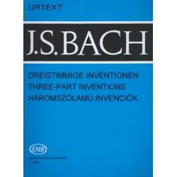 Bach, Johann Sebastian: Háromszólamú invenciók (15 Sinfonien) BWV 787-80