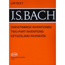 Bach, Johann Sebastian: Kétszólamú invenciók BWV 772-786