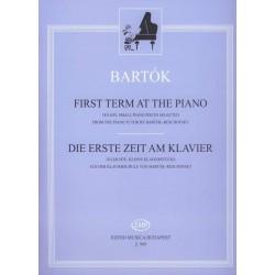 Bartók Béla: Kezdők zongoramuzsikája A Bartók-Reschofsky zongoraiskolából