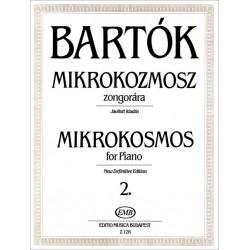 Bartók Béla: Mikrokozmosz zongorára 2 Javított kiadás