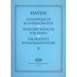 Haydn, Joseph: Válogatott zongoraszonáták 2 Szerkesztette Hernádi Lajos