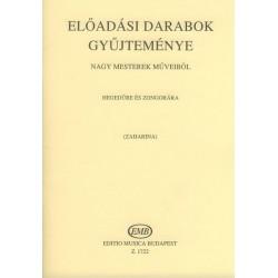 ELŐADÁSI DARABOK GYŰJTEMÉNYE nagy mesterek műveiből Átírta Zaharina, T.