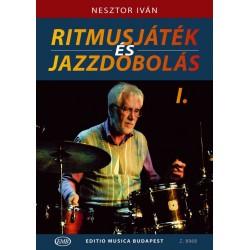 Nesztor Iván: Ritmusjáték és jazzdobolás 1 kotta és letöltőkód