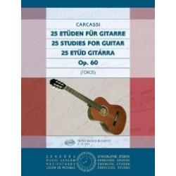 Carcassi, Matteo: 25 etűd gitárra Op. 60