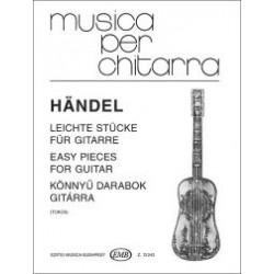 Händel, Georg Friedrich: Könnyű darabok gitárra