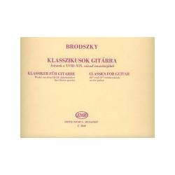 KLASSZIKUSOK GITÁRRA 18. és 19. századi zene