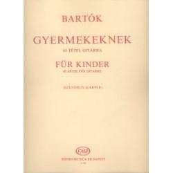 Bartók Béla: Gyermekeknek 60 darab Átírta Szendrey-Karper László