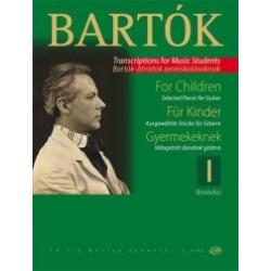 Bartók Béla: Gyermekeknek 1 Válogatott darabok Válogatta és átdolgozta Brodszky Ferenc