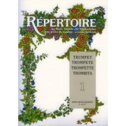 Répertoire zeneiskolásoknak - Trombita 1. A zongorakíséretet készítette Tóth Péter Összeállította és közreadja Sztán István