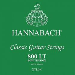 A&S Hannabach gitárhúr,8001 LT klasszikus gitárhúr,Zöld