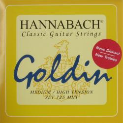 A&S Hannabach gitárhúr,Diskant Goldin 725