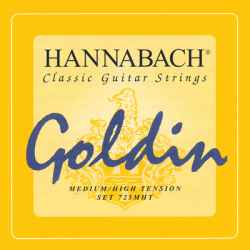A&S Hannabach gitárhúr,Bass Goldin 725