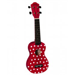 Baton Rouge NU1S-ladybug szoprán ukulele