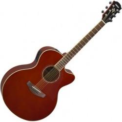 YAMAHA CPX-600 Akusztikus gitár, Old Violin Sunburst