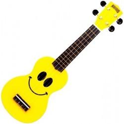 Mahalo U-SMILE Yellow ukulele