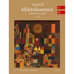 Bartók Béla: Mikrokosmos zongorára I-II (Urtext) BB 105 (1932-1939)