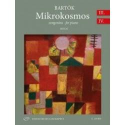 Bartók Béla: Mikrokosmos zongorára III-IV (Urtext) BB 105 (1932-1939)