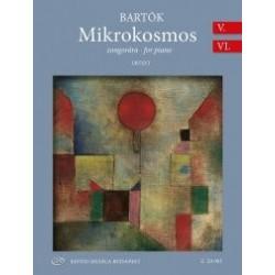 Bartók Béla: Mikrokosmos zongorára V-VI (Urtext) BB 105 (1932-1939)
